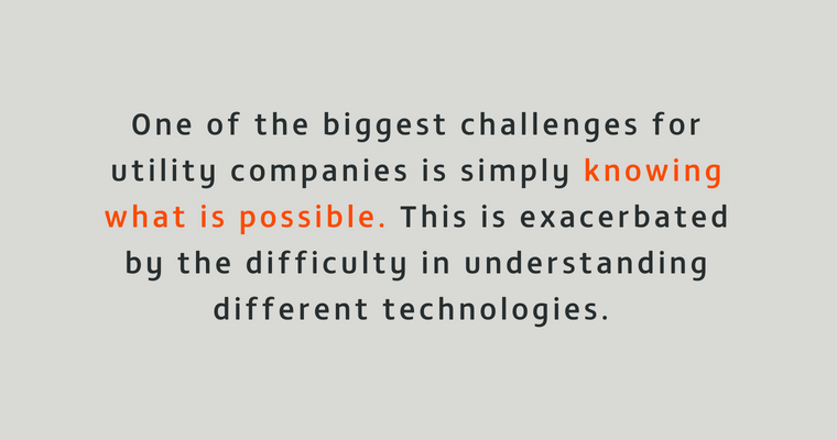 Challenges for utilities companies