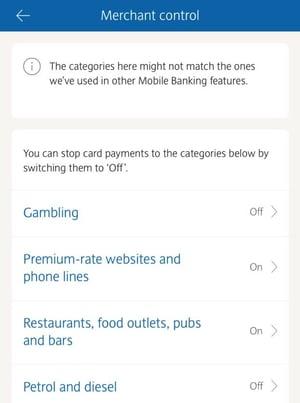 barclays bank blocks spending app