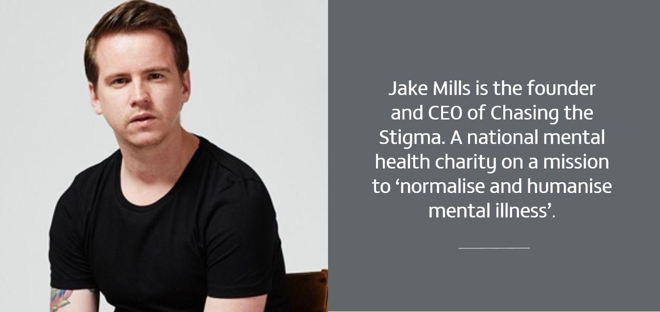 jake mills from chasing the stigma